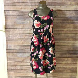 OLD NAVY JUNIORS S/P BLUE FLORAL SUNDRESS NWT